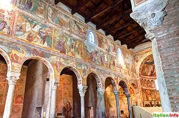 Codigoro: Benedektiner-Abtei Pomposa - Fresken