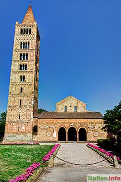 Codigoro: Benedektiner-Abtei Pomposa