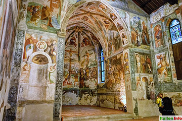 San Daniele: Sant´Antonio Abate - Fresken