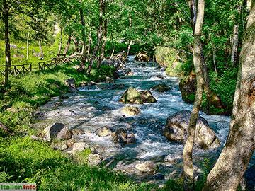 Verbicaro: Fluss Abatemarco
