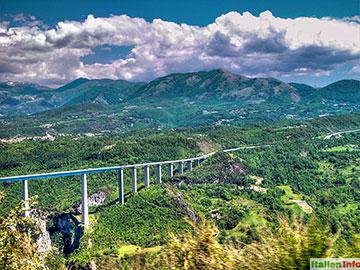 Laino Borgo: Autobahn A3