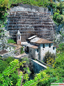 Papasidero: Santuario di Santa Maria di Costantinopoli