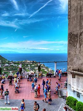 Capri: Piazzetta