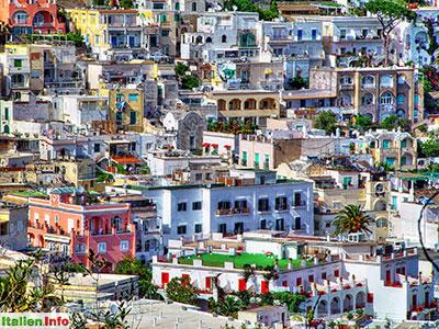 Capri: Häuservielfalt