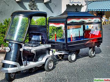 Capri: Leichenwagen
