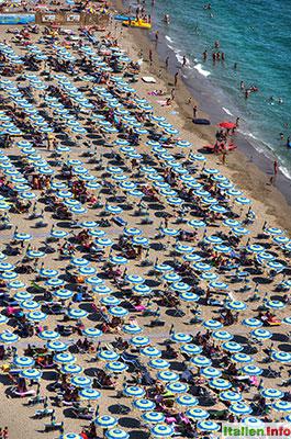 Vietri sul Mare: Strandleben