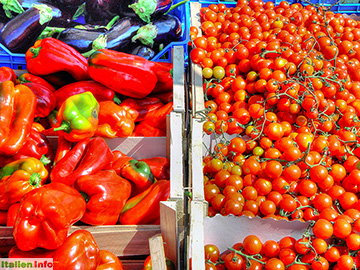 Formia: Frisches Gemüse