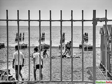 Ostia: Strandleben in Lido di Ostia