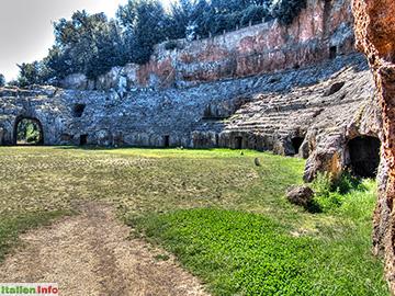 Sutri: Amphitheater