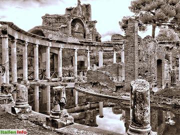 Tivoli: Hadriansvilla - Villa der Insel