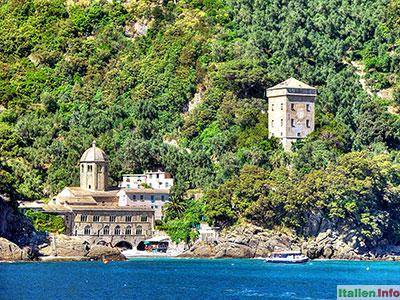 Camogli: Abtei San Fruttuoso