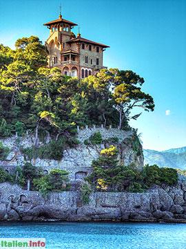 Portofino: Villa an der Hafeneinfahrt