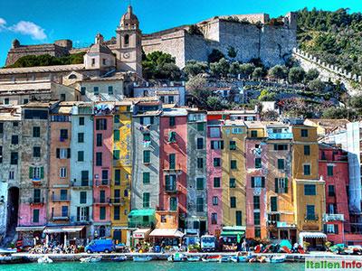 Portovenere: Farbenprächtige Altstadt