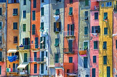 Portovenere: Bunte Häuserpracht
