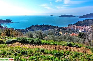 Lerici: Wintertag am Golf von La Spezia