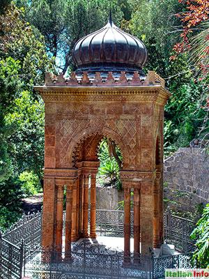 Ventimiglia: Botanischer Garten Hanbury - Mausoleo