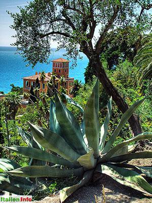 Ventimiglia: Botanischer Garten Hanbury - Villa Orengo