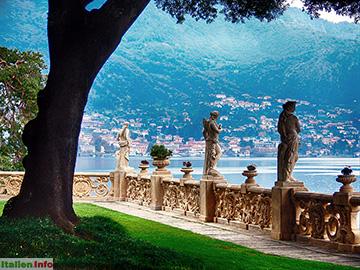 Lenno: Villa del Balbianello - Garten