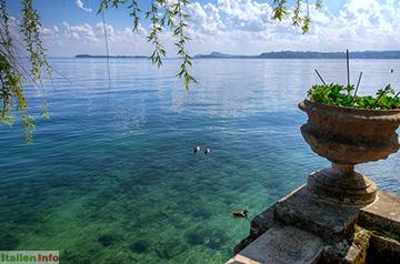 Gardone Riviera: Blick in Richtung Süden