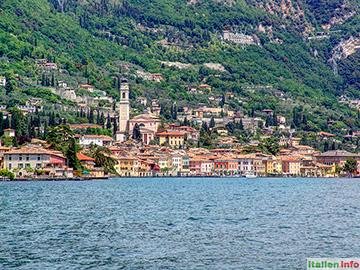 Gargnano: Gardasee-Ufer
