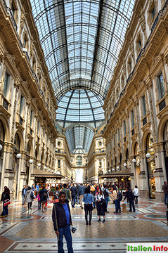 Mailand: Galleria Vittorio Emanuele II