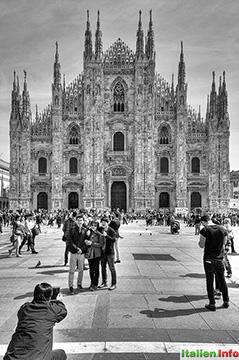 Mailand: Besuchermagnet Mailänder Dom