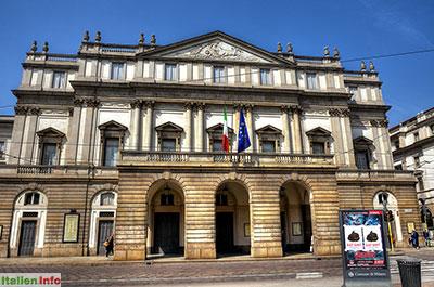 Mailand: Opernhaus Scala