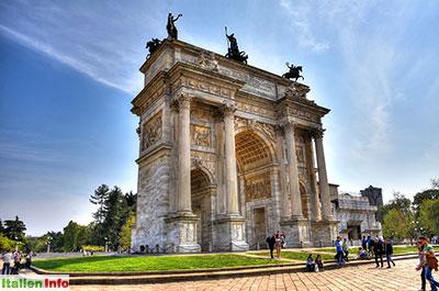 Mailand: Arco della Pace