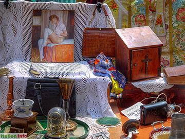 Mantua: Flohmarkt