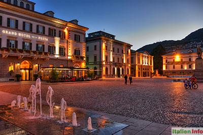 Sondrio: Piazza Garibaldi