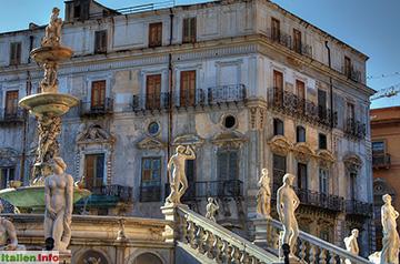 Palermo: Fontana Pretoria