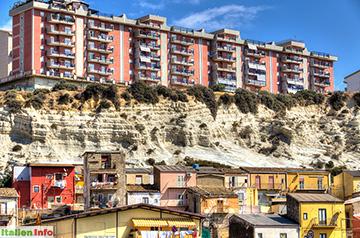 Porto Empedocle: Stadtbild
