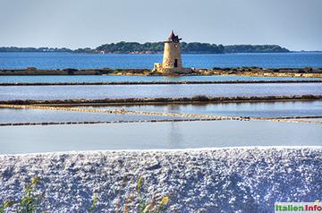Trapani: Salinen zur Salzgewinnung