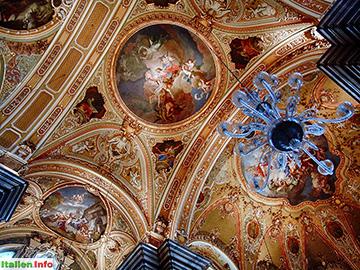 Brixen: Dom - Deckenausschnitt