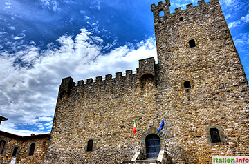 Castellina in Chianti: Rathaus Rocca di Castellina