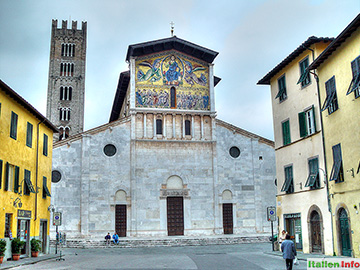 Lucca: Kirche San Frediano