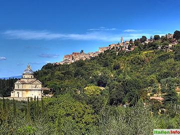 Montepulciano: Hoch auf dem Hügel