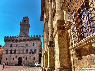 Montepulciano: Palazzo Comunale und Palazzo Nobili-Tarugi