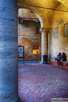 Pienza: Palazzo Comunale