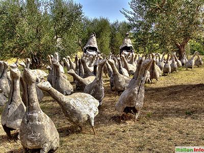 Seggiano: Il Giardino di Daniel Spoerri - Tag des Zorns