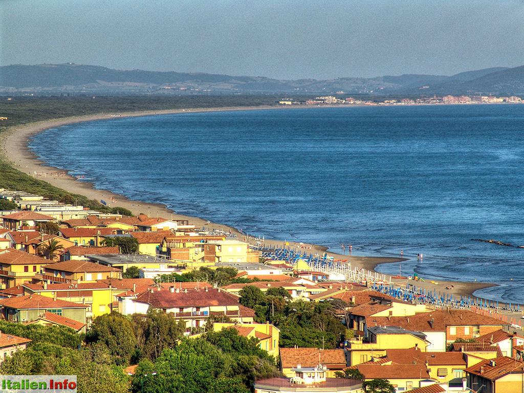 Toskana Strand Karte.Toskana Kuste Und Strande Italien Info