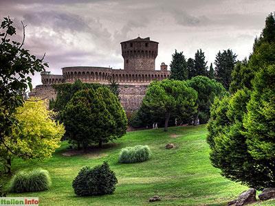 Volterra: Fortezza Medicea, die Medici-Festung