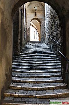 Pitigliano: Altstadtgasse