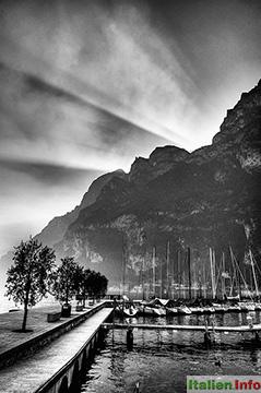 Riva del Garda: Letzte Sonnenstrahlen