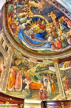 Spoleto: Fresken im Dom