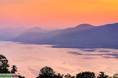 San Zeno di Montagna: Gardasee - Sonnenuntergang