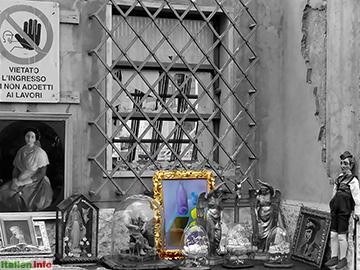 Soave: Flohmarkt in der Altstadt