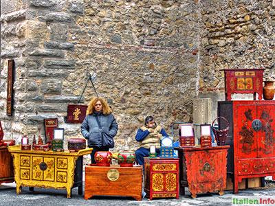 Soave: Antikes auf dem Flohmarkt