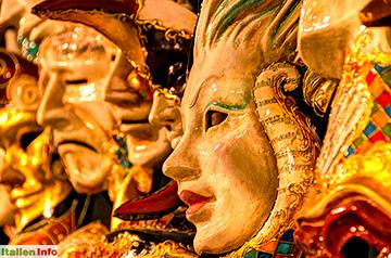 Venedig: Karnevals-Masken