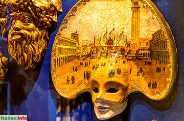 Venedig: Karnevals-Maske